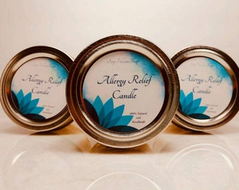 Allergy Relief Candle