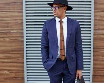 Wooden tie for men