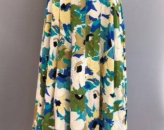 vintage Jacques vert skirt