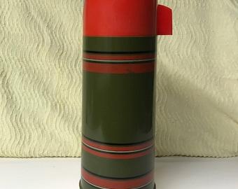 Vintage Aladdin Thermos Vacuum Bottle Glass-lined Quart
