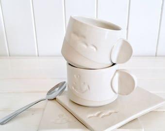 White espresso kit