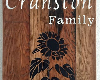 Customizable Reclaimed Wood Signs