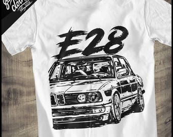 """BMW E28 """"Dirtystyle"""" T-Shirt"""