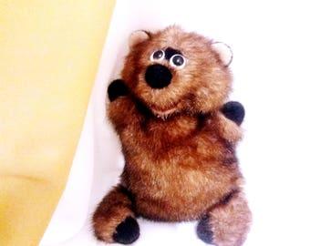 Newborn props toy,  brown bear, Teddy Bear Photo Prop | Stuffed Animal | Bear stuffie | Christmas present