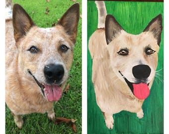 Personalized dog paintings