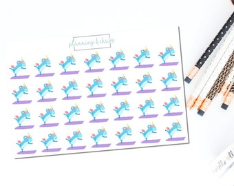 Yoga Pippy - Functional | Planner Stickers
