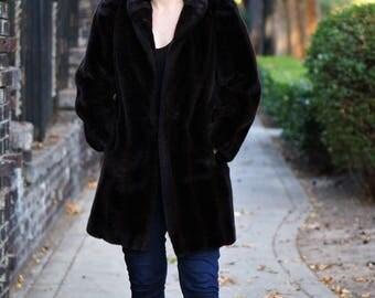 Vintage Faux Fur Jordache Coat
