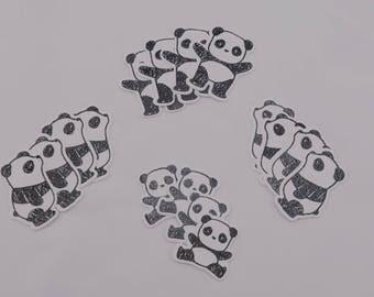 Scrapbook PANDA die cuts!