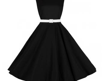 Dress Vintage Rockabilly Pinup Circular mod001