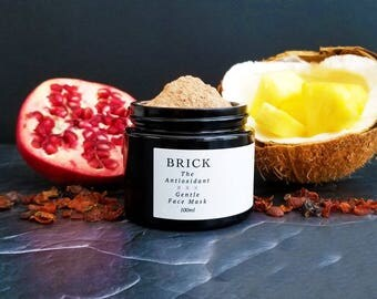 The Antioxidant Organic Gentle Face Mask by Brick Skincare