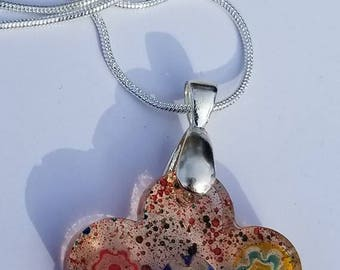 Handcrafted Resin Flower Necklace