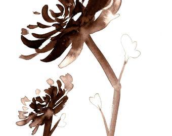 Chrysanthemum I Print