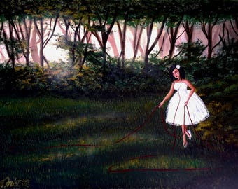 The Red String Limited Edition Print