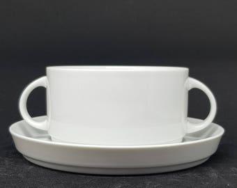 Rare Tapio Wirkkala 6 soup cups Thomas - Rosenthal 1960s