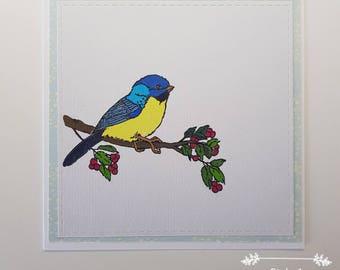 Handmade Bird Card