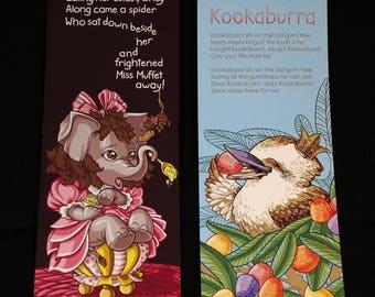 Jumbo Nursery Bookmarks (2 Pack)