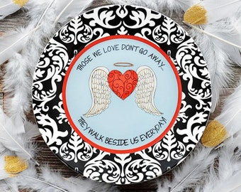 Always In Your Heart Ceramic Gift Plate