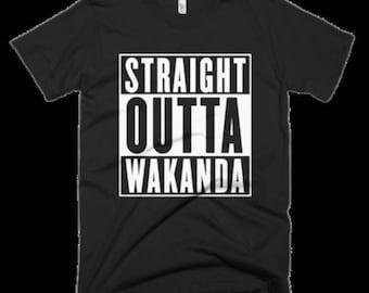 Straight Out of Wakanda (Black Panther) t-shirt