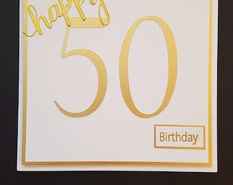Signature Birthday Card
