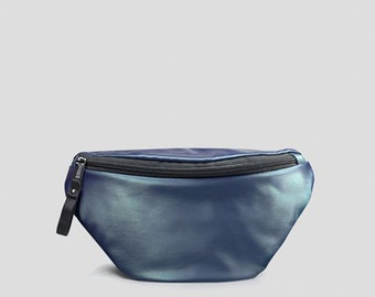 Leather fanny pack,Hip Bag Leather Pack,Mens Fanny pack,Leather Utility Belt,Leather waist bag,Minimalist waist bag,Hip Pack Travel,Belt Bag