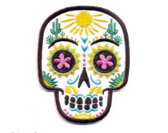 Calavera del Desierto : Embroidered Patch