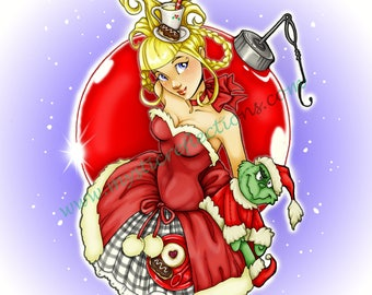 Cindy Lou Who, The Grinch Stole Christmas - Art Print