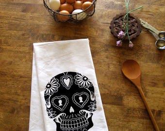 Sugar skull towel