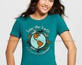 Planet Dachshund Ladies T-Shirt