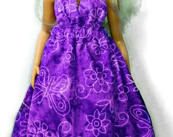 Purple Barbie Dress - Fits Curvy and Friends