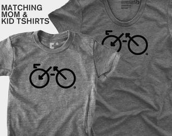 Bike - Matching Shirts (Women & Kid)