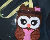Little Owl Wristlet