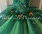 Emerald Dress Woodland Fa...