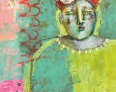 Wonder Paint, Episode 1 with mixed media folk artist Mystele