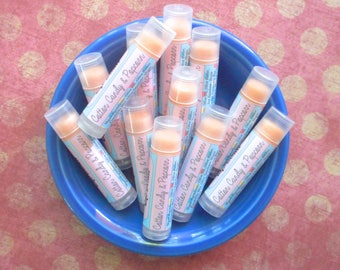 Cotton Candy & Popcorn Vegan Lip Balm - Limited Edition It's Still Summer Flavor