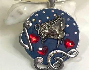 Loving Music Pendant Necklace