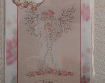 Gardener's Angel of Spring-Hope  Embroidery Pattern from Crab Apple Hill Studio #250