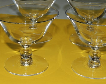 4 CANDLEWICK Sherbets by Imperial Glass