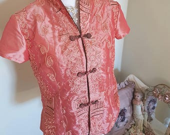 theatre costume, miss saigon, theatre supplies, chinese costume, highly embroidered jacket, chinese new year