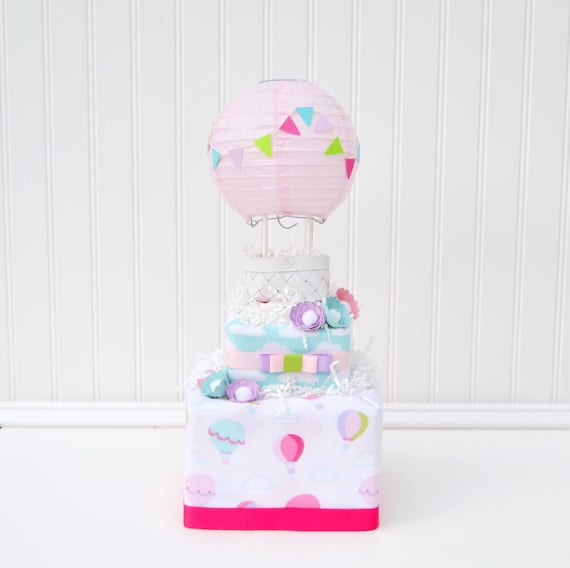 Colorful Up & Away Blossom Cake