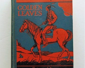 1938 Golden Leaves Work-Play Books