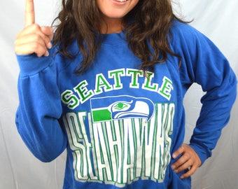 Vintage 80s Seattle Seahawks NFL Sweatshirt