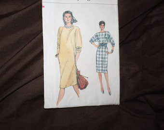 vintage pattern Very Easy Very Vogue 8565 size 14 16 18 uncut dress