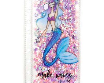Make Waves Mermaid Josefina Planner Shaker Pocket My Prima Planner Shakers For A5 Planner or Personal Size Planner (930158)