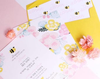 Bee Themed Invitation Only