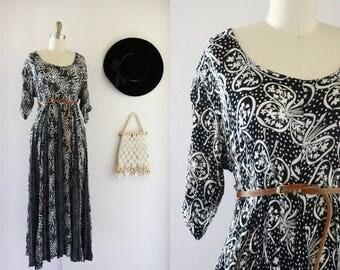 sheer market dress / l