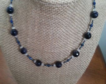 Black Goldstone Necklace