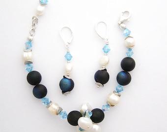 Blue Hues Bracelet Set