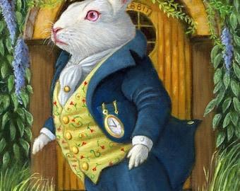 The White Rabbit's Door - Print 5x7
