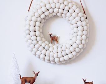Wreath - Christmas Snow