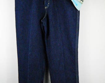 Vintage PS Gitano High Waist Dark Wash Denim Mom Jeans Women's Size 12 Short